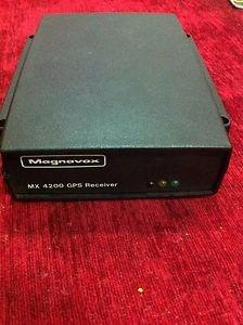 Magnavox MX4200 GPS RECEIVER
