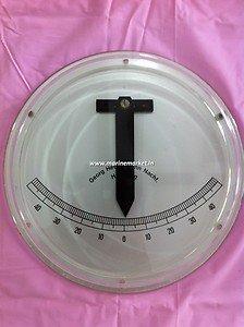 Marine Pendulum Inclinometer by Georg Hechelmann Nachf. Hamburg Made In Germany