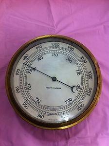 Kelvin Hughes Marine Aneroid Barometer