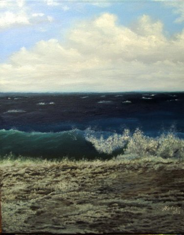 20x16 Swash 2012 Oil on Canvas NOT A PRINT from alexander kulagin