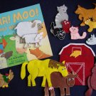 Baa Moo What Will We Do 14 pc felt set