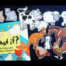 What If?  aka Baa Moo What Will We Do? 11pc Felt Story