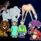 Good Night, Gorilla 8-pc Flannel Felt Story