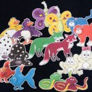 Hello Red Fox, Green Fox and Other Animals 16-pc Flannel Felt Story