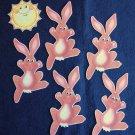 Five Little Bunnies 6-pc Felt Story