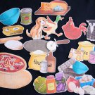 Little Red Hen Makes a Pizza 18-pc Felt Story