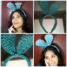 Sparkle Bunny Ear Headband
