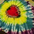 Tie Dye Shirt Red Heart design