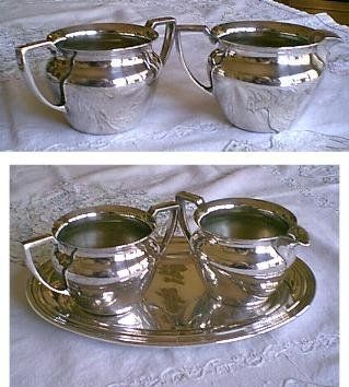 LOVELY International Silver - CONCORD - Serving Set