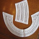 SALE- Beautiful VINTAGE Crochet Tape Lace Collar and Cuff