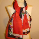 Bright and Beautiful Vintage Scarf - LONG