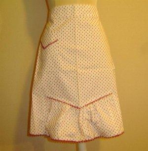 1950's POKA DOTS - Vintage Apron