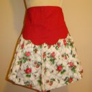 NEAT ONE - 1950's Red Roses - Vintage Apron