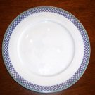 (1) Villeroy & Boch -Switch 3 - CASTELL Checked  Dinner Plate - 10-5/8""