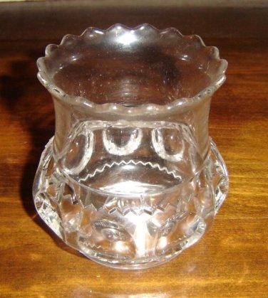 ORIGINAL EAPG 1890's King's Crown Thumbprint Spooner