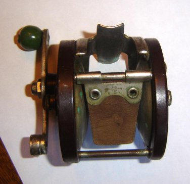 Original 1930's  OCEAN CITY Trolling Reel  - *Lake City #215* SCARCE