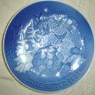 Bing & Grohdahl 1981 Christmas Plate B&G