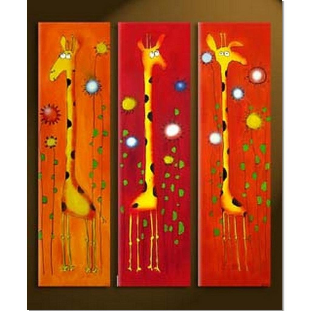 100 handmade abstract painting acrylic canvas art decor for Nice acrylic paintings