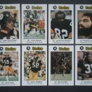 1982 Pittsburgh Steelers Police Team Set