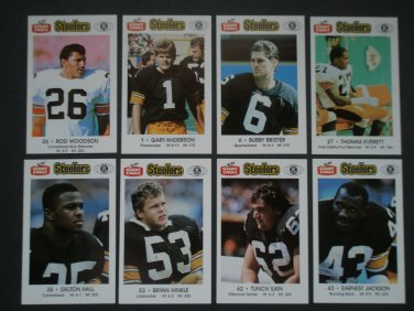 1988 Pittsburgh Steelers Police Team Set
