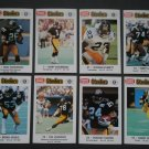 1989 Pittsburgh Steelers Police Team Set