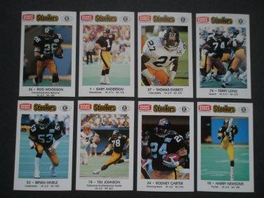 1989 Pittsburgh Steelers Police Team Set