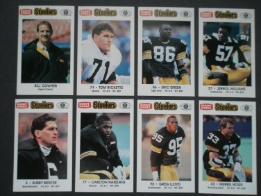 1992 Pittsburgh Steelers Police Team Set