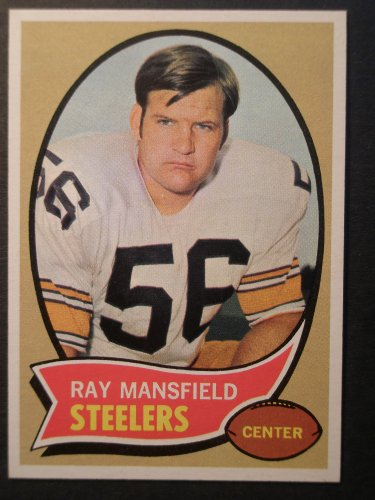 1970 Topps #107 Ray Mansfield ROOKIE Card Nm-Mt