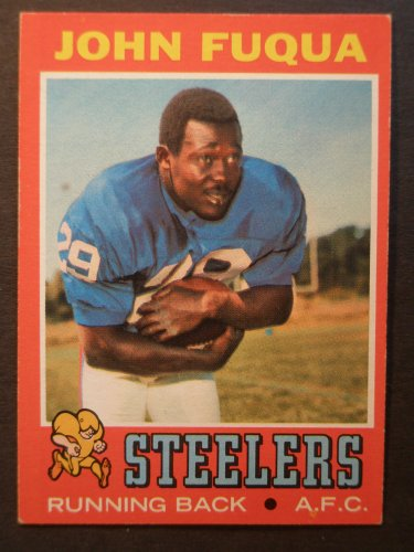 1971 Topps #76 John Fuqua ROOKIE Card Near Mint