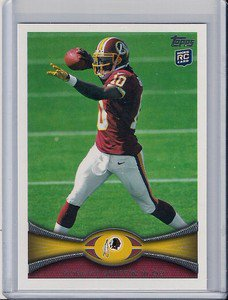 2012 Topps Robert Griffin III Rookie