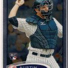 2012 Topps Chrome Austin Romine Rookie