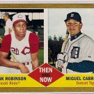 2011 Topps Heritage Then and Now Frank Robinson & Miguel Cabrera