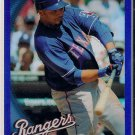 2010 Topps Chrome Blue Refractor Nelson Cruz 145/199