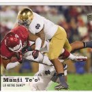 2013 Upper Deck Manti Te'o Rookie
