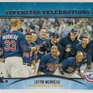 2013 Topps Opening Day Superstar Celebrations Justin Morneau