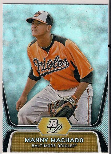 2012 Bowman Platinum Prospects Manny Machado
