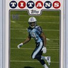 2008 Topps Chris Johnson Rookie