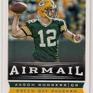 2013 Score Airmail Aaron Rodgers