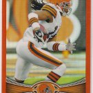2012 Topps Chrome Orange Refractor Josh Cribbs
