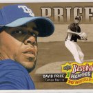 2010 Upper Deck  Baseball Heroes 20th Anniversary Art David Price