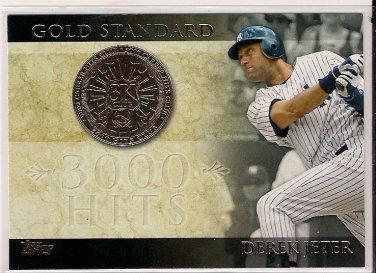 2012 Topps Gold Standard Derek Jeter