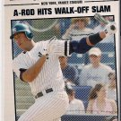 2008 Topps Year in Review Alex Rodriquez