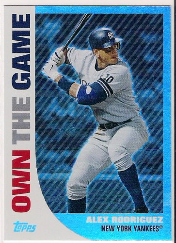 2008 Topps Own The Game Alex Rodriguez
