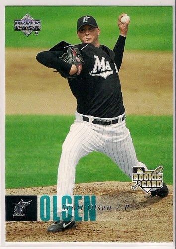 2006 Upper Deck Scott Olsen Rookie