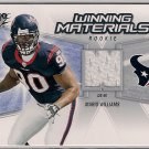 2006 SPx Winning Materials Mario Williams Rookie