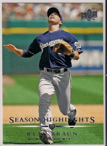 2008 Upper Deck Season Highlights Ryan Braun
