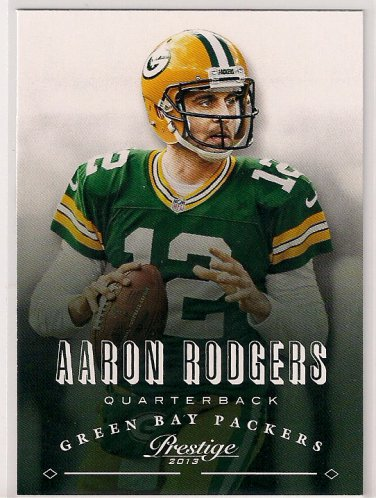 2013 Prestige Aaron Rodgers