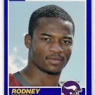 2013 Score Blue 25th Anniversary Rodney Smith Rookie