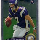 2011 Topps Chrome Christian Ponder Rookie