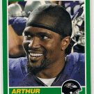 2013 Score 25th Anniversary Arthur Brown Rookie